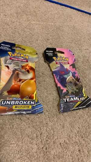 Pokemon booster packs for Sale in Auburn, WA