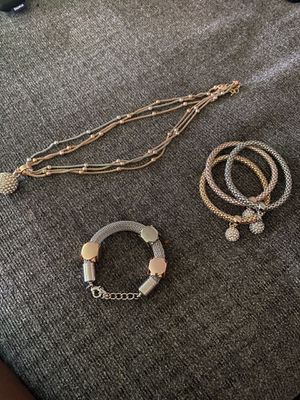 Pandora necklace and bracelets for Sale in Nashville, TN