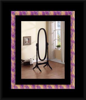 Black swivel oval mirror for Sale in Adelphi, MD