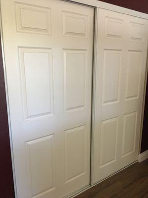 Sliding bypass Closet doors 72 x 80 for Sale in Escondido, CA