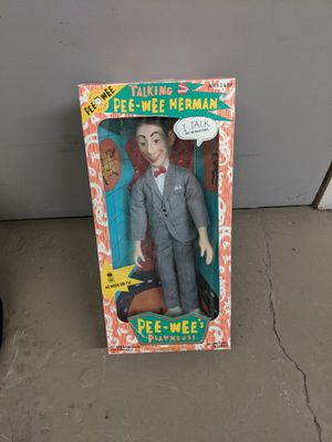 Peewee Herman talking doll, still in the box. for Sale in Kennewick, WA