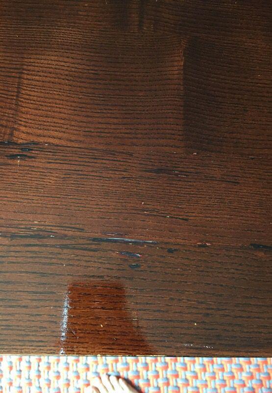 Create&barrel metal and wood desk