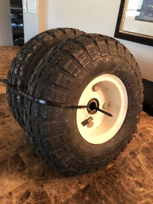 10-INCH PNEUMATIC wheels TIRES brand new for Sale in Gilbert, AZ