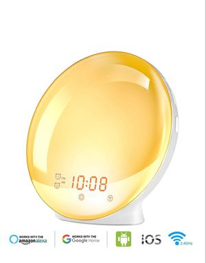 Wake Up Light Alarm Clock, Burbupps Kids Night Light New for Sale in Silver Spring, MD