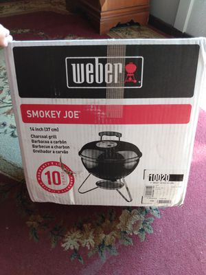 Weber Smokey Joe charcoal grill for Sale in Barrington, RI