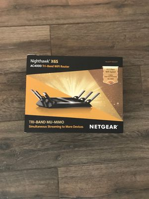 Nighthawk X6S AC4000 Tri-band WiFi Router for Sale in Phoenix, AZ
