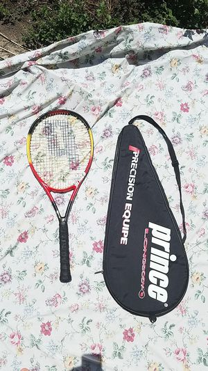 Prince Precision Equipe 4 3/8 Grip Graphite Longbody Tennis Racket Oversized for Sale in Glendora, CA