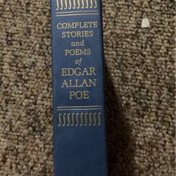 Complete Stories And Poems Of Edgar Allan Poe for Sale in Orem,  UT