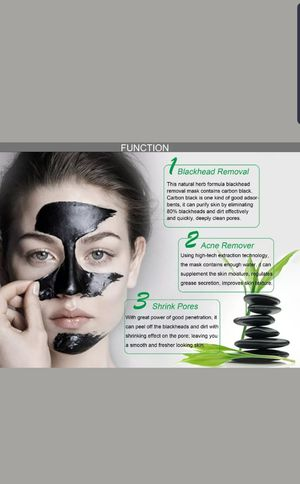 Black mask deep cleansing for Sale in Corsicana, TX