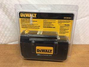 DeWalt DCB361 36-Volt 2-Amp Hours Lithium Power Tool Battery for Sale in Murray, UT