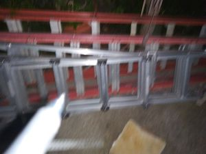 (1)16ftfoldup.(2)fiberglass paint ladders..8&10ft for Sale in Mountain View, CA