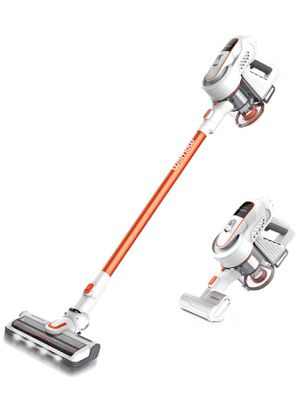 W9 Cordless Stick Vacuum Cleaner, 300W Brushless Motor, 16000pa Powerful Suction,HEPA Filter, Lightweight 2 in 1 Handheld Vacuum with LED Carpet Brus for Sale in Springfield, VA