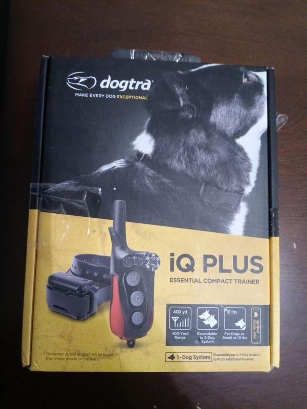 IQ plus dog collar trainer