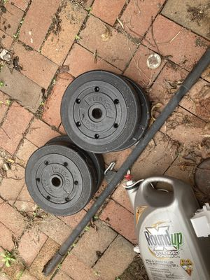 Weights and Bar for Sale in Washington, DC