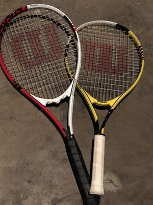 Tennis rackets for Sale in San Antonio, TX
