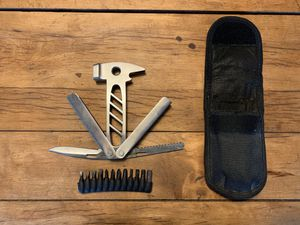 Troika Obelix Multi-tool with hammer, sheath & bits for Sale in Wayzata, MN