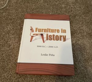 Furniture in History Interior Design Textbook for Sale in Glendale, AZ