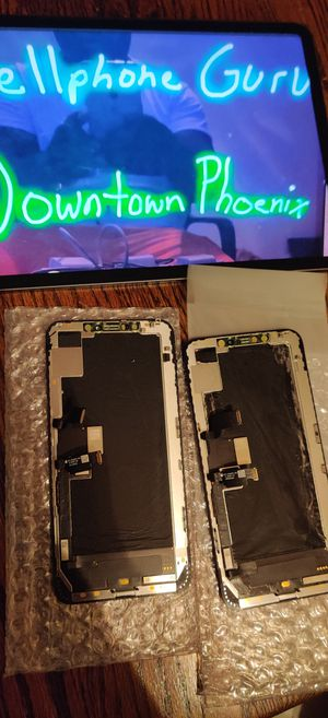 Authentic iPhone XS max LCD & digitizer screen ONLY no phone for Sale in Phoenix, AZ