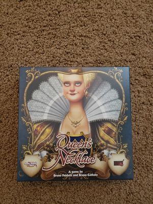 Queen's Necklace board game, used but like new for Sale in Washington, PA