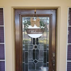"""16 """" Wooden Welcome Wreath for Sale in Pasadena,  TX"""