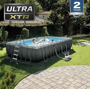 Intex ULTRA XTR 24ft x 52 Family Swimming Pool (NEW IN BOX) for Sale in Alexandria, VA