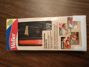 Weller 15pc wood burning kit, new open box for Sale in North Port, FL