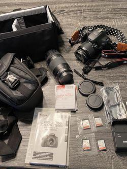 Canon Rebel T6 Digital Camera Kit Plus Extras EOS for Sale in Orlando,  FL