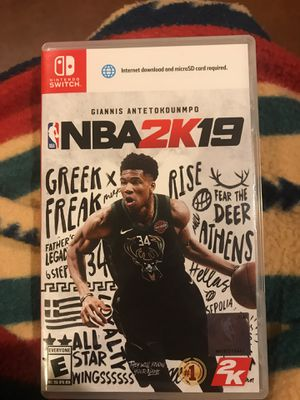 2k19 switch game for Sale in Elma, WA