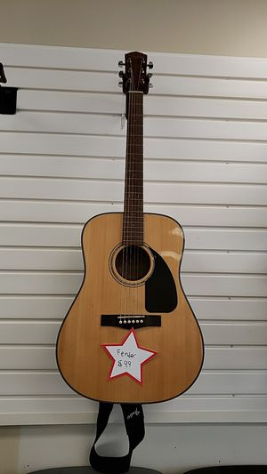 Fender acoustic guitar for Sale in Toledo, OH