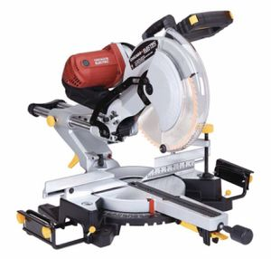 15 Amp Corded 12 in. Double-Bevel Sliding Compound Miter Saw used 3 times for Sale in Irving, TX
