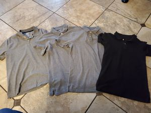 FREE 4 Boys Uniform shirts (Size 18/20) for Sale in Tampa, FL