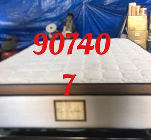 "12"" thick foam Encase 1 Sided Pillow Top mattress. Not rebuild. All new materials. Price includes tax and local delivery. Cash only. Twin Mattre for Sale in HUNTINGTN BCH, CA"