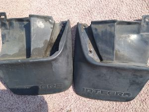Acura integra 90 91 92 93 rear mudflaps for Sale in Los Angeles, CA