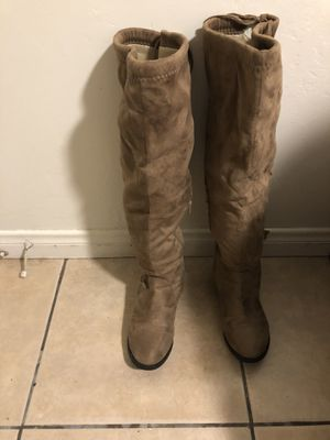 Charlotte Russe Boots 👢 like new size 9W for Sale in San Diego, CA