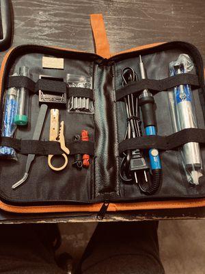 110V 60W Electric Soldering Iron Gun Tool Kit Welding Desoldering Pump Tools Set new never used for Sale in Mt. Juliet, TN