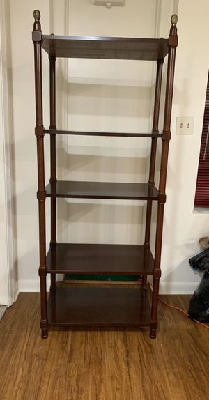 SET OF TWO BOMBAY COMPANY BOOKSHLEVES for Sale in Miami, FL