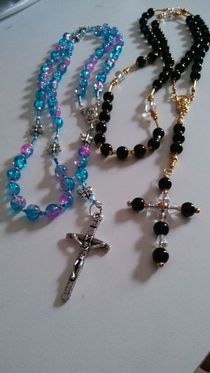 Custom hand made rosary for Sale in Cleveland, OH