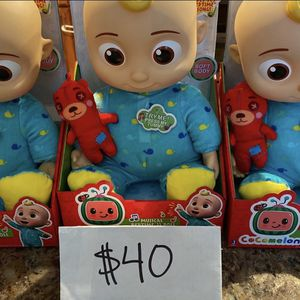 """COCOMELON MUSICAL BEDTIME JJ 10"""" SOFT PLUSH DOLL🍉 for Sale in Lawndale, CA"""