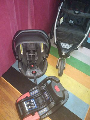 Graco stroller +seat car Britax Infant for Sale in Queens, NY