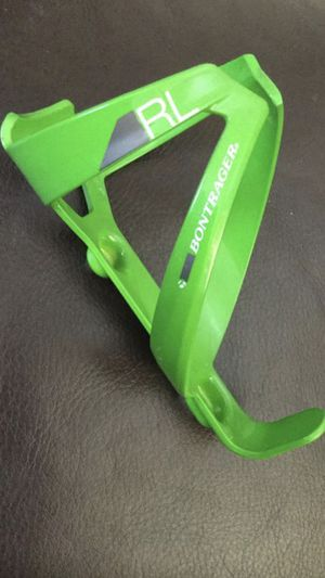 Bontrager lime green RL bicycle water bottle cage $15 TRADE OFFERS WELCOMED for Sale in Hialeah, FL