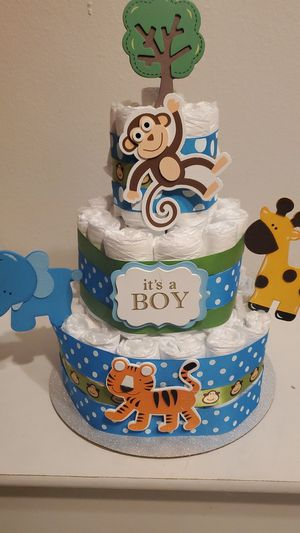 Diaper tier cake for Sale in Federal Heights, CO