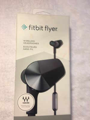 Fitbit flyer Bluetooth earphones- MAKE OFFER for Sale in Agoura Hills, CA