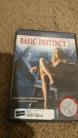 Basic Instinct 2 DVD for Sale in Rancho Cucamonga, CA