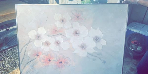 Hand Painted Painting 5x4ft