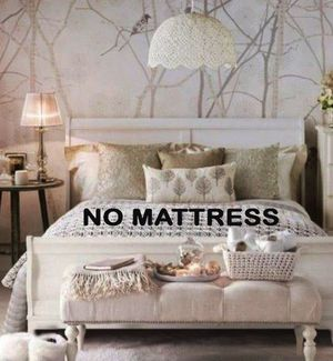 3 COLORS/3 SIZES/4PC TWIN FULL OR QUEEN BED DRESSER MIRROR AND NIGHTSTAND/NO MATTRESS INCLUDED for Sale in Los Angeles, CA