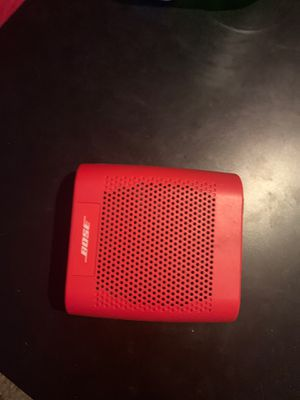Bose soundlink Bluetooth speaker for Sale in Tarpon Springs, FL