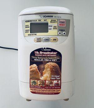 Zojirushi Bread Maker BB-HAC10 for Sale in New Brunswick, NJ