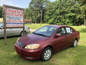 2003 Toyota Corolla for Sale in Dudley, NC