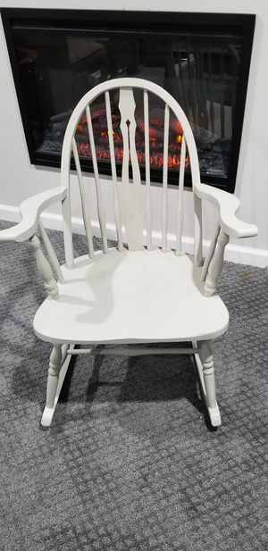 Wooden rocking chair for Sale in Canton, MI