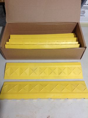 Rubber curb ramps (8) for Sale in Bettendorf, IA